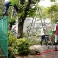 千葉県救護盲老人施設「猿田荘」ボランティア活動の写真