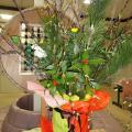 東総学園 お正月飾りの写真