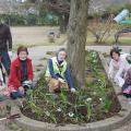 東総学園地域活動学部2年  銚子市清川町第一公園の環境美化ボランティアの写真