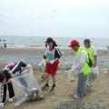 第二回・ビーチクリーンボランティアinいなげの浜の写真